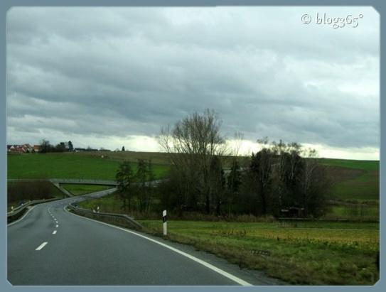 Auf dem Weg in den Odenwald