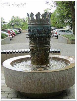 Brunnen vorm Alt-Königstift Kronberg